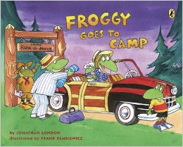 Froggy goes to camp book article