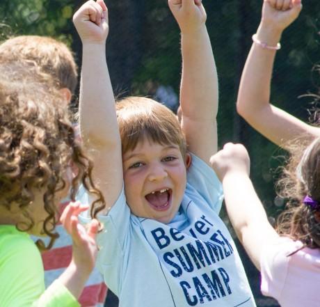 young-camper-happy