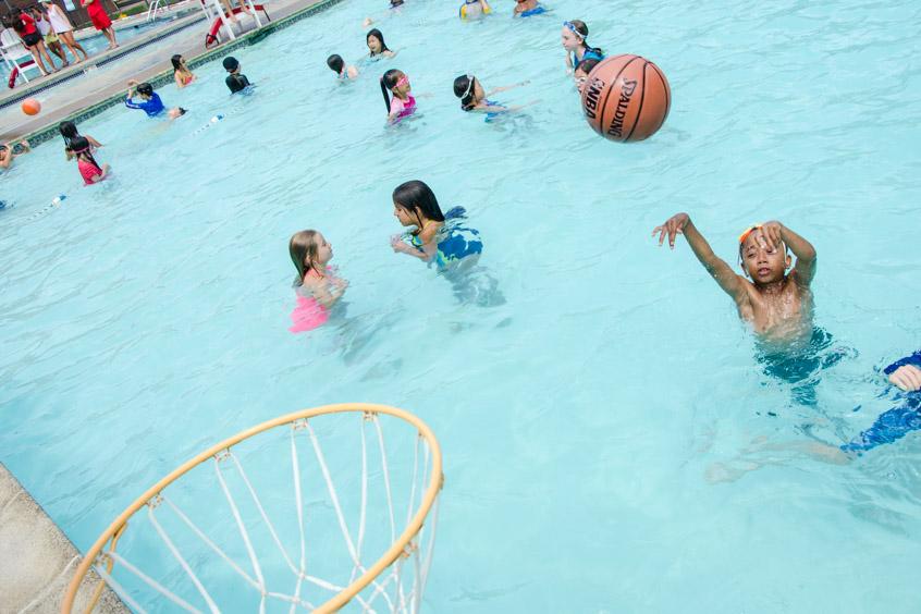Family Swim Club Beaver Summer Camp