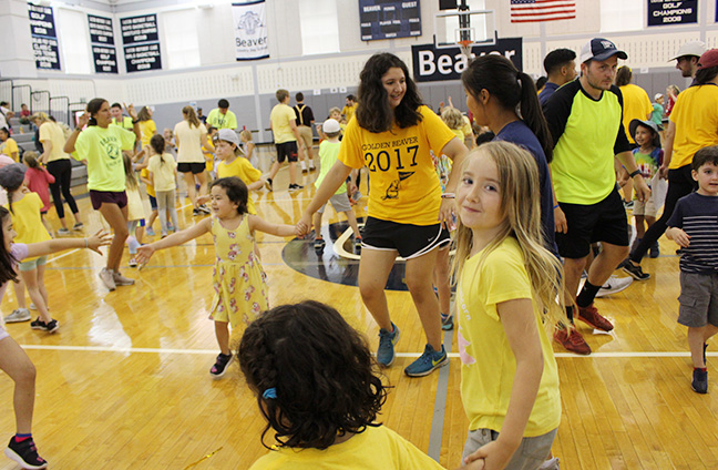 Danceing at the Golden Beaver Challenge