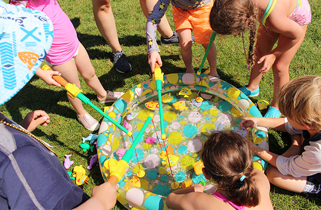 Campers enjoy Splash Day